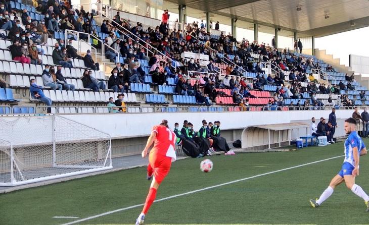 A Vilatenim (1a Jornada) va sofrir molt la Unió Esportiva Figueres enfront del potentíssim Girona B // FOTO: UE Figueres