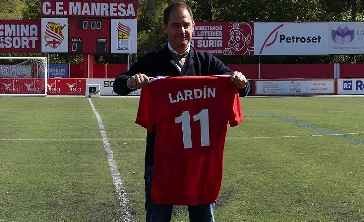 Jordi Lardín, Manresa
