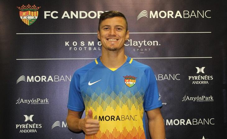 Martin Mantovani, un reforç de luxe per a un Andorra que buscarà l'ascens de categoria // FOTO: FC Andorra