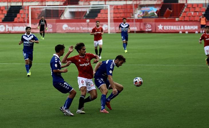 Nàstic de Tarragona i Badalona no van passar de l'empat a zero inicial // FOTO: CF Badalona