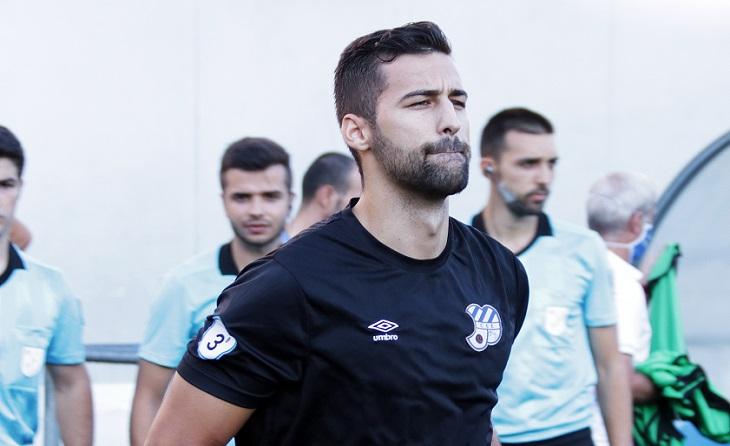 Sergio Fernández, retorn per a triomfar. Retor d'aquest portert barceloní al Nou Sardenya per a guanyar i guanyar // FOTO: Àngel Garreta