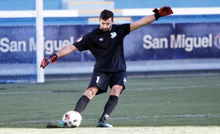 Als seus 26 anys, el porter barceloní torna a l'Europa amb la idea de pujar de categoria // FOTO: Ángel Garreta