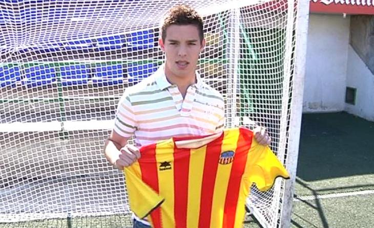 Éric Alcaraz, quan era porter del Sant Andreu // FOTO: Betevé