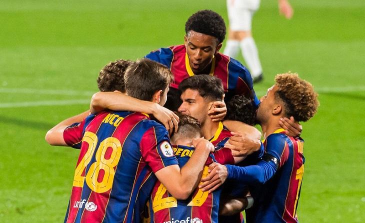 El Barcelona B suma el seu segon triomf en aquesta Lliga enfront del Lleida Esportiu
