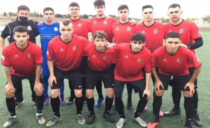 Primer onze inicial del conjunt vallesà aquesta temporada per a superar el Miralbueno El Olivar // FOTO: Cerdanyola FC