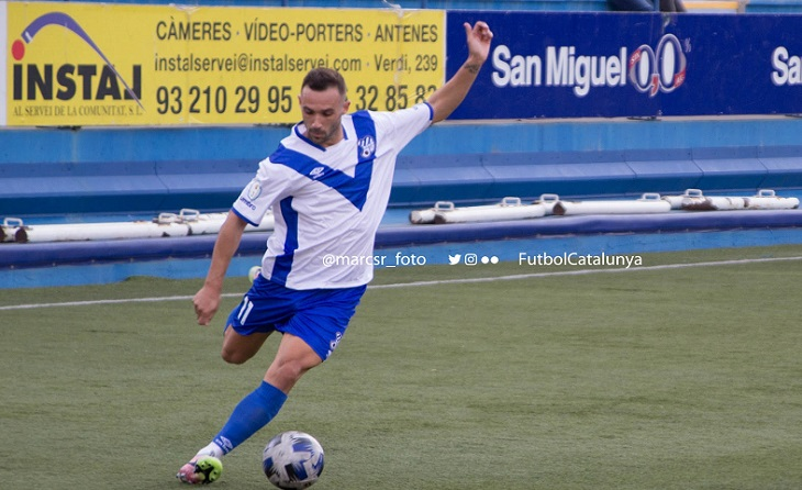 L'extrem de l'Europa David Jiménez ja suma 4 assistències de gol per al conjunt de Vilajoana // FOTO: marcsr_foto