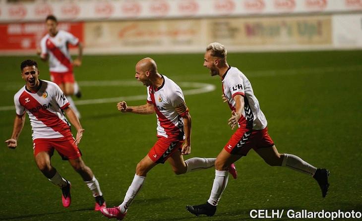 Cristian Gómez podrà continuar dirigint amb mestratge l'equip riberenc // FOTO: Àlex Gallardo