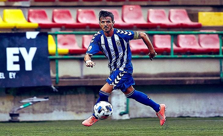 Segona temporada en Ca N'Anglada per a aquest lateral que està a punt de complir 40 anys// FOTO: San Cristóbal