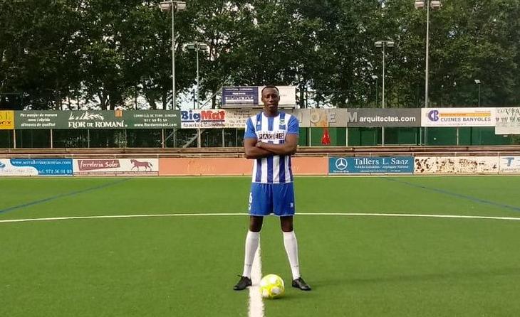 Sanku Jabbie, encara jugador del Banyoles