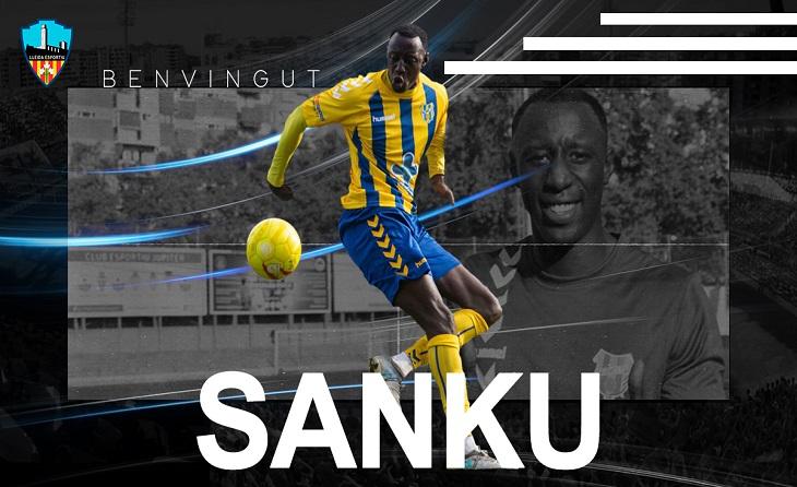 El saltenc Sanku Jabbie s'ha convertit en raó de discòrdia entre Lleida Esportiu i Banyoles // FOTO: CE Banyoles