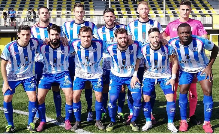L'equip blanc-i-blau suma 1 victòria, 1 empat i 1 derrota en els seus primers tres partits de Lliga // FOTO: Santfeliuenc FC