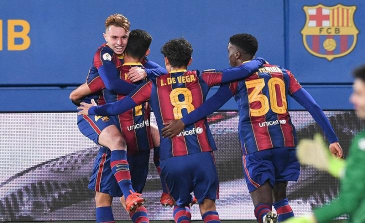Segona B: una bona acció individual de Rey Manaj va acabar decantant la victòria pel conjunt blaugrana // FOTO: FC Barcelona