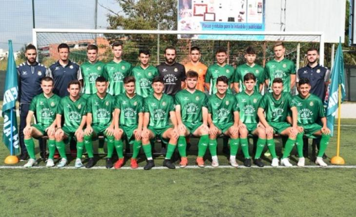 Juvenil A del Cerdanyola FC 2019-2020 // FOTO: cfc.cat