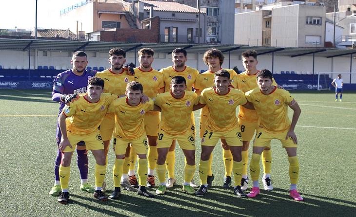 Segon triomf consecutiu del Girona d'Axel Vizuete i queda a 2 punts del líder // FOTO: Girona FC