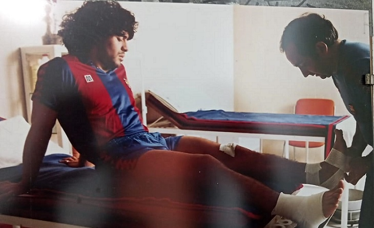 Maradona, Langa