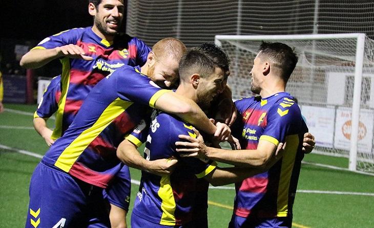 Aquesta és la imatge que tots desitgem presenciar aquest dimecres en la Copa RFEF // FOTO: UE Llagostera