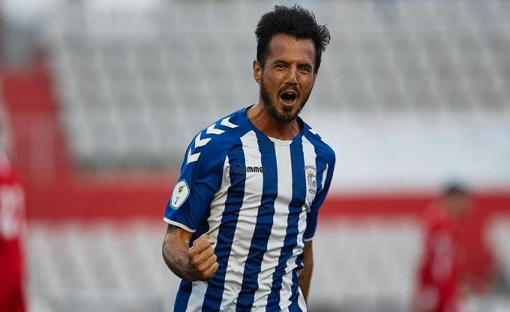 Un altre gol més decisiu per al Sant Cristóbal de la mà del seu capità Oscar Sierra // FOTO: O.S.