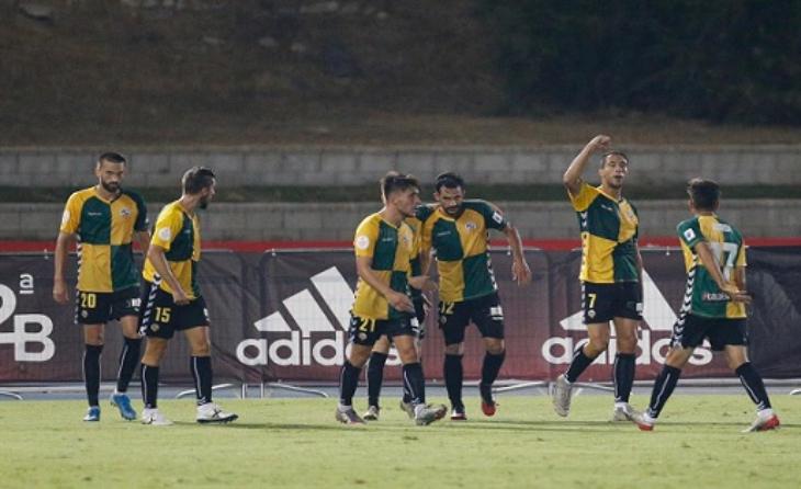 El CE Sabadell va assolir la Segona A a Marbella // FOTO: CE Sabadell