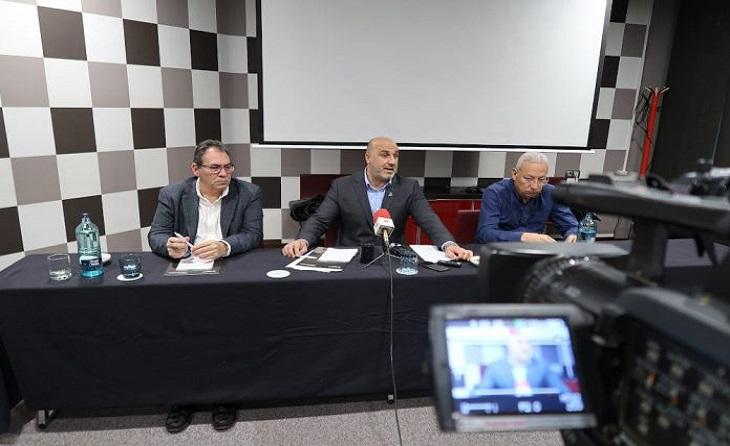 El passat 16 de Gener del 2020 Ivan Carrillo presentava en roda de premsa una denúncia anònima i una moció de censura contra l'FCF // FOTO: futbolcatalunya