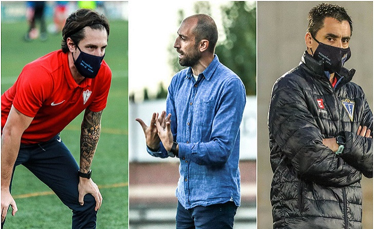 Marc Cabestany, Santi Triguero i Toni Pajuelo