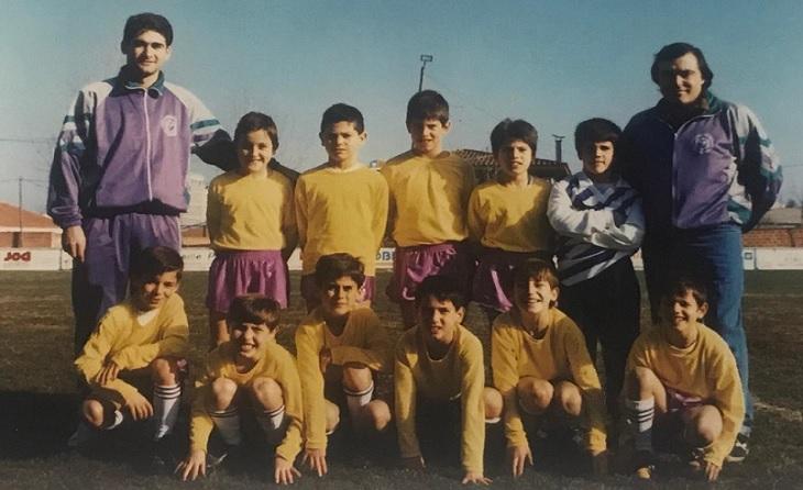 Benjamí ECF Les Garrigues 1992-1993 // FOTO: J.J.