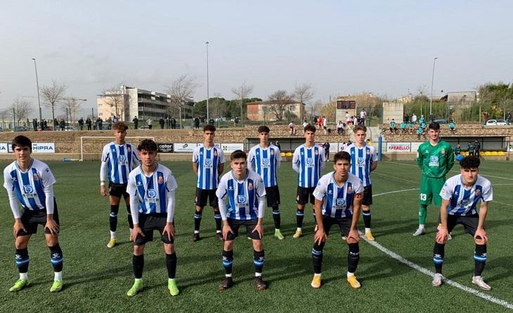 El juvenil de l'Espanyol de Luis Blanco haurà d'esperar // FOTO: Carles Casanova