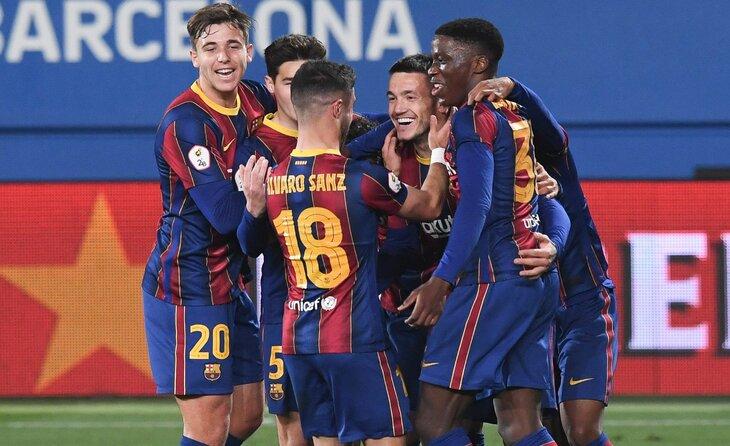 Triomf contundent del Barça B al Estadi Joan Cruyff // FOTO: FC Barcelona B