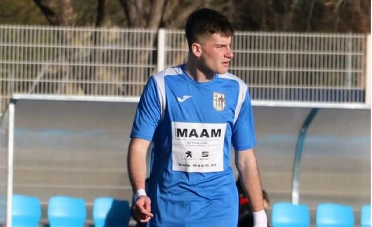 Pol Sáncjhz ja figura amb 8 gols com Pitxitxi de la LNJ // FOTO: A.G.