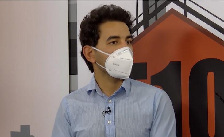 El periodista de 'emporda_info', Said Sbai, creu que tot és qüestió de diners // CAPTURA: Canal 10 Empordà