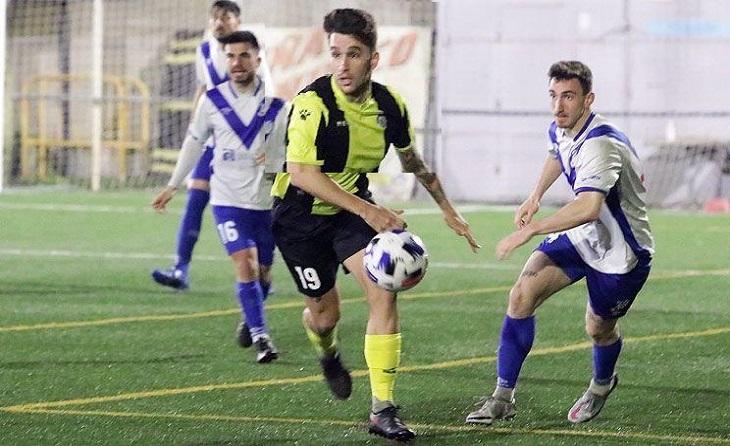 Dani Ruiz es va estrenar amb 2 gols i una assistència de gol per a la Montañesa// FOTO: Àngel Garreta