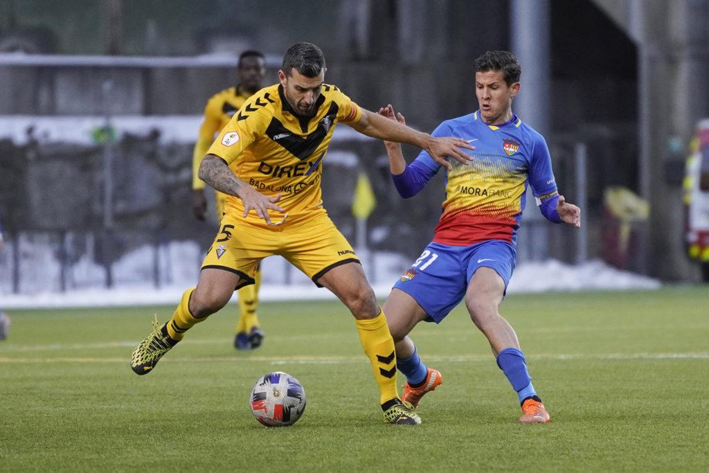 Badalona i Andorra lluitaran per la tercera plaça aquest pròxim cap de setmana // FOTO: CF Andorra