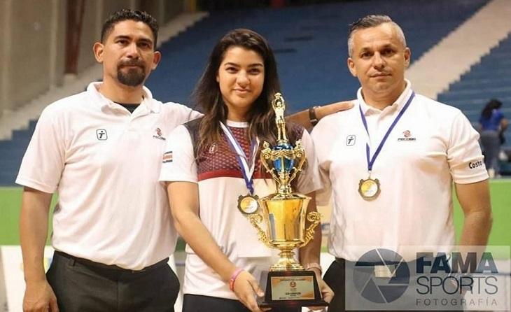 subcampions del campionat de centre Basket que es va fer a El Salvador 2018