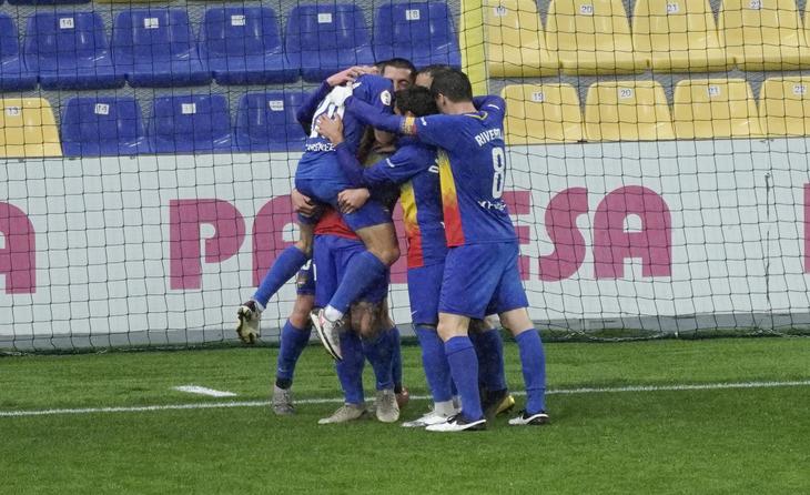 L'Andorra està 'on fire' en aquesta segona fase // FOTO: Andorra FC