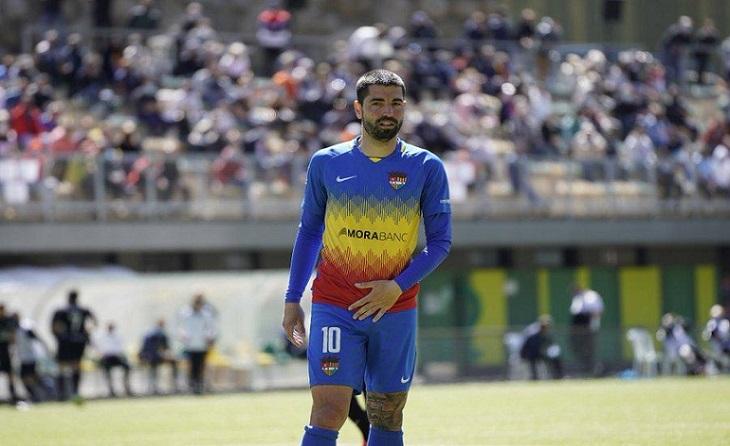 Carlitos Martínez: oportunitat d'or per a continuar demostrant ser el gran golejador que és // FOTO: FC Andorra
