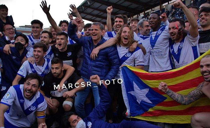 27 anys després, és equip de la 2a RFEF, l'Europa és equip de la 2a RFEF // FOTO: @marcsr_foto