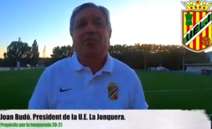 El president de la UE La Jonquera va arribar aquest estiu amb la seva junta per a fer-se càrrec del club fronterer // FOTO: Facebook UE La Jonquera