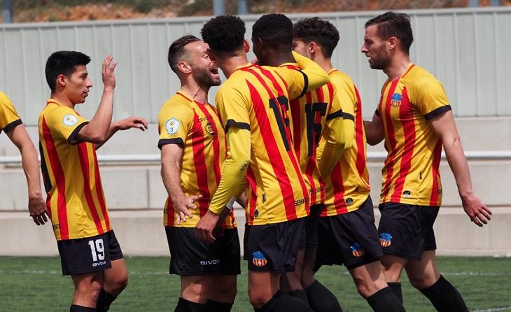 Un gol de Yayá (8') davant els parroquians deixa als de Cristian García amb 5 punts d'avantatge / FOTO: UESA