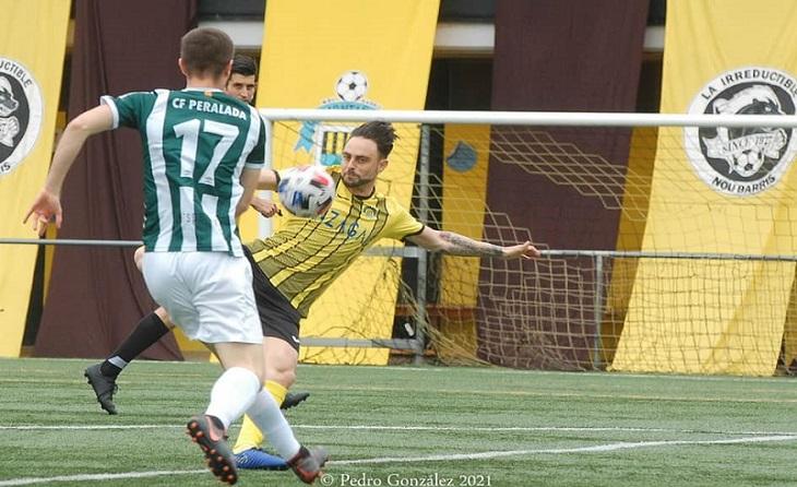 El tècnic de Vila-rodona només té paraules d'agraïment per als seus jugadors // FOTO: Pedro González