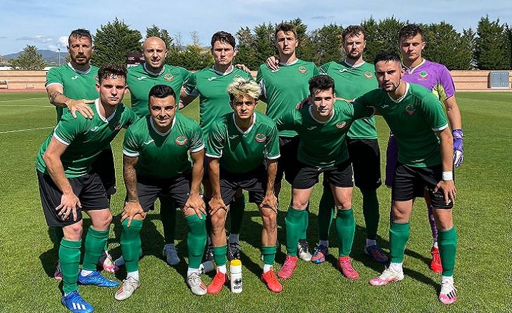 El conjunt tarragoní és el líder del subgrup 2A de Primera Catalana // FOTO: FC Ascó