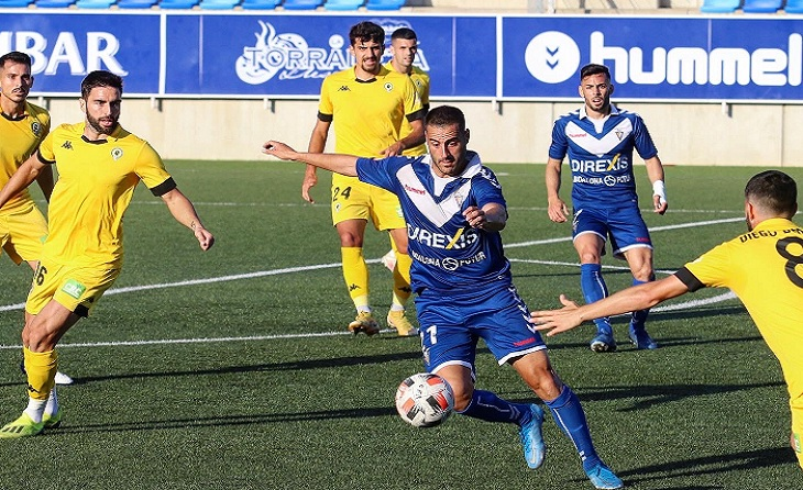 El Badalona va tornar a rebre un gol al descompte // FOTO: CF Badalona