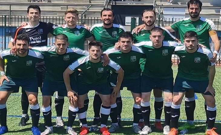 Els jugadors de Manel Cazorla estan a només un punt del lider Mollerussa // FOTO: Borges Bl.