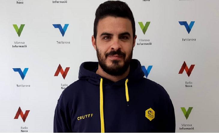 Carlos Fernández, president del CF Vilanova del Camí // FOTO: vilanovainformacio.cat