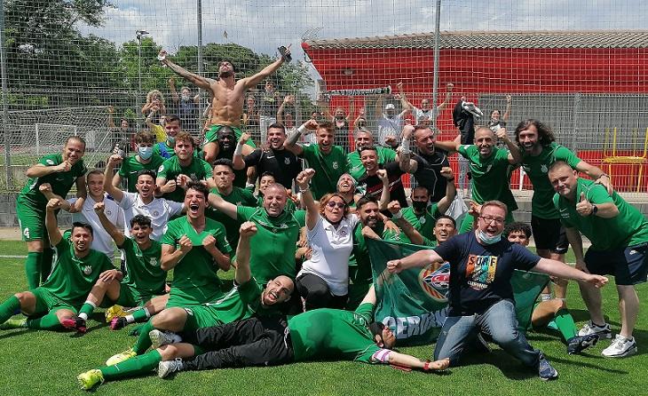 El Cerdanyola de Toni Carrillo es mereix tot i una mica més // FOTO: Cerdanyola FC