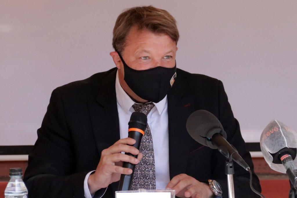 Javi Salamero, president de l'AFCAC, no entén que l'FCF miri a Blanes per a l'Assemblea // FOTO:  AFCAC