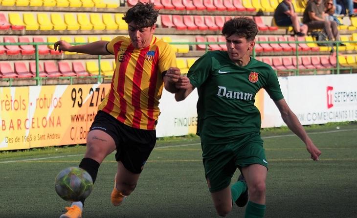 Dos gols de Marcos Morales van ser definitius perquè l'equip d'Ivan Díaz-Cano pugi a la DHJ // FOTO: Vives-Sant Andreu