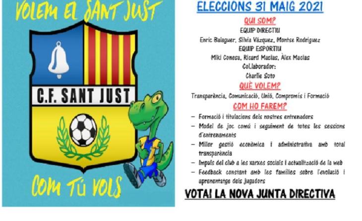 La candidatura que encapçala Enric Balaguer va per totes