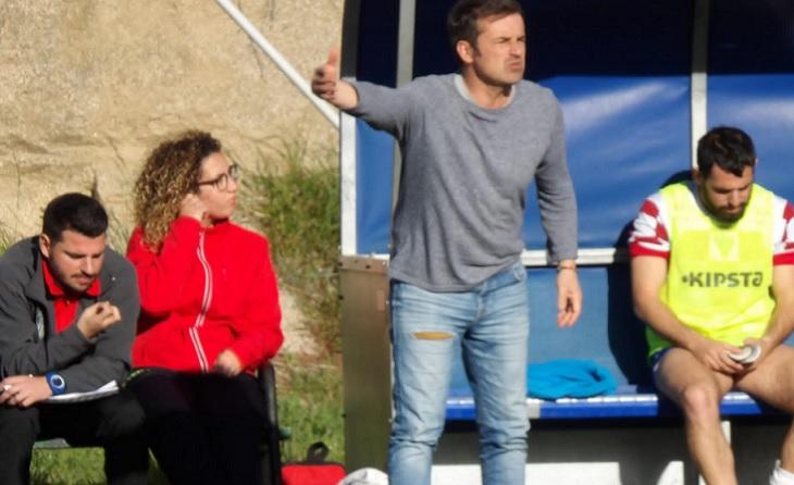 """""""La pròxima temporada la categoria més perjudicada i afectada serà la 2a cat per l'ampliació d'equips"""". Ho diu Sebas Martes // FOTO: Atco. Sant Pol"""