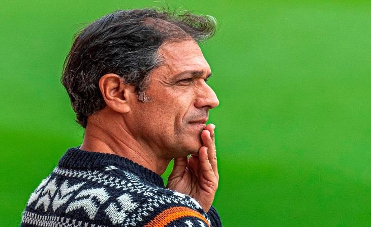El valencià deixa el club grana després d'any i mig com a primer entrenador // FOTO: Nàstic