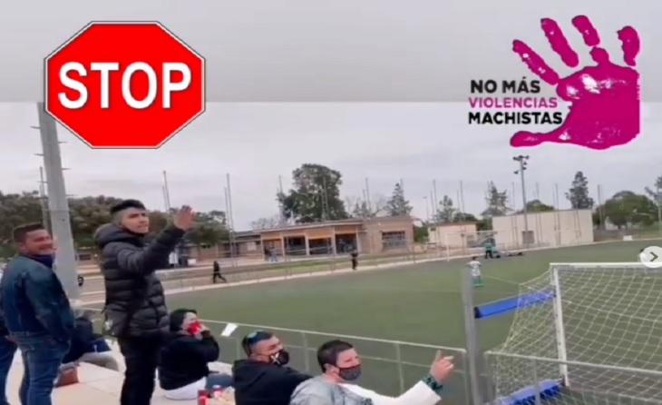 Ultim cas de violència sexista en un camp de futbol // FOTO: top.futbolbase