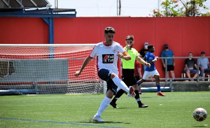 Javi Jarabo, un gran futbolista amb rècord perquè ha estat més de 12 cursos en Primera Catalana // FOTO: Montse Avilés